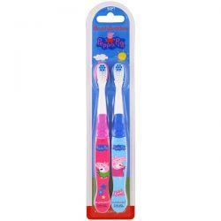 Brush Buddies, Peppa Pig Toothbrush, Soft, 2 Pack Biografie, wspomnienia