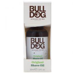 Bulldog Skincare For Men, Original Shave Oil, 1 fl oz (30 ml)