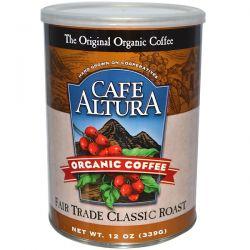 Cafe Altura, Organic Coffee, Fair Trade Classic Roast, 12 oz (339 g) Biografie, wspomnienia