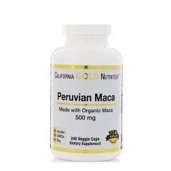 California Gold Nutrition, Peruvian Maca, Organic Root, 500 mg, 240 Veggie Caps Biografie, wspomnienia