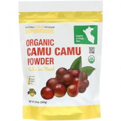 California Gold Nutrition, Superfoods, Organic Camu Camu Powder, 8.5 oz (240 g) Biografie, wspomnienia