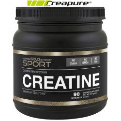 California Gold Nutrition, Creatine Powder, Micronized Creatine Monohydrate, Creapure, Unflavored, 16 oz (454 g) Biografie, wspomnienia