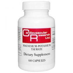 Cardiovascular Research Ltd., Magnesium-Potassium Taurate, 60 Capsules Biografie, wspomnienia