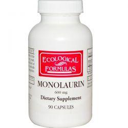 Cardiovascular Research Ltd., Ecological Formulas, Monolaurin, 600 mg, 90 Capsules Biografie, wspomnienia