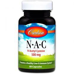 Carlson Labs, N-A-C, 500 mg, 60 Capsules Biografie, wspomnienia