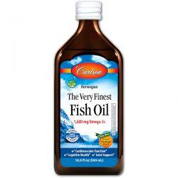 Carlson Labs, Norwegian, The Very Finest Fish Oil, Natural Orange Flavor, 16.9 fl oz (500 ml) Biografie, wspomnienia