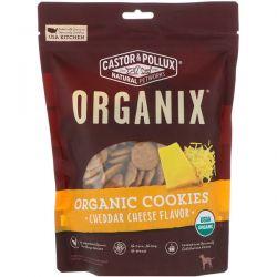 Castor & Pollux, Organix, Organic Dog Cookies, Cheddar Cheese Flavor, 12 oz (340 g) Biografie, wspomnienia