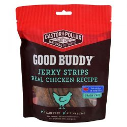 Castor & Pollux, Good Buddy, Jerky Strips, Real Chicken Recipe, 4.5 oz (127 g) Pozostałe