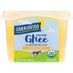 Carrington Farms, Organic Ghee, Clarified Butter, Grass-Fed, 12 fl oz (355 ml) Biografie, wspomnienia