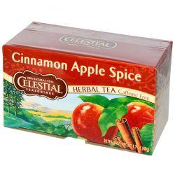 Celestial Seasonings, Cinnamon Apple Spice, Caffeine Free, 20 Tea Bags, 1.7 oz (48 g) Biografie, wspomnienia