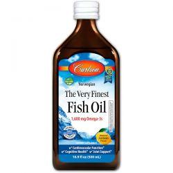 Carlson Labs, Norwegian, The Very Finest Fish Oil, Natural Lemon Flavor, 16.9 fl oz (500 ml) Biografie, wspomnienia