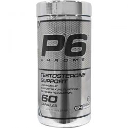 Cellucor, P6 Chrome, Testosterone Support, 60 Capsules Biografie, wspomnienia