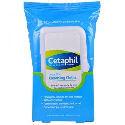 Cetaphil, Gentle Skin Cleansing Cloths, 25 Pre-Moistened Cloths, 5.0 x 7.9 (12 x 20 cm) Biografie, wspomnienia