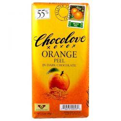 Chocolove, Orange Peel in Dark Chocolate, 3.2 oz (90 g) Biografie, wspomnienia