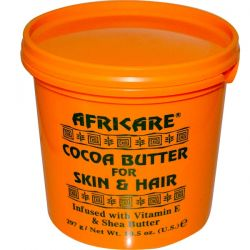 Cococare, Africare, Cocoa Butter For Skin & Hair, 10.5 oz (297 g) Pozostałe