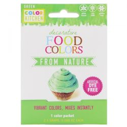 ColorKitchen, Decorative, Food Colors From Nature, Green, 1 Color Packet, 0.088 oz (2.5 g) Biografie, wspomnienia