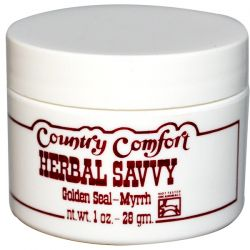 Country Comfort, Herbal Savvy, Golden Seal-Myrrh, 1 oz (28 g) Pozostałe