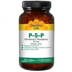 Country Life, P-5-P (Pyridoxal 5' Phosphate), 50 mg, 100 Tablets Biografie, wspomnienia
