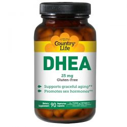 Country Life, DHEA, 25 mg, 90 Vegetarian Capsules Biografie, wspomnienia
