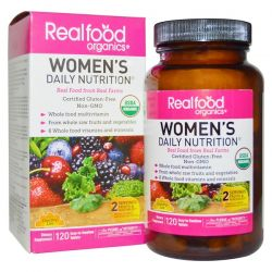 Country Life, RealFood Organics, Women's Daily Nutrition, 120 Tablets Biografie, wspomnienia