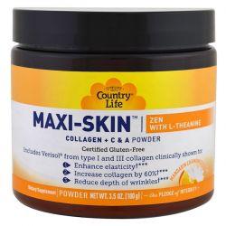 Country Life, Maxi-Skin Zen With L-Theanine, Mandarin Chamomile Flavor, Powder, 3.5 oz (100 g) Biografie, wspomnienia