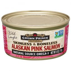 Crown Prince Natural, Alaskan Pink Salmon, Skinless & Boneless, 6 oz (170 g) Biografie, wspomnienia