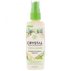 Crystal Body Deodorant, Mineral Deodorant Spray, Vanilla Jasmine, 4 fl oz (118 ml) Biografie, wspomnienia