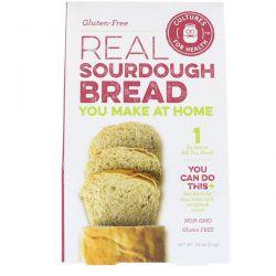 Cultures for Health, Real Sourdough Bread, Gluten-Free, 1 Packet, .08 oz (2.4 g) Zdrowie i Uroda