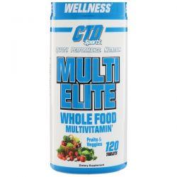 CTD Sports, Multi Elite Multivitamin, 120 Tablets Zdrowie i Uroda