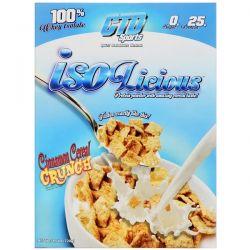 CTD Sports, Isolicious Protein Powder, Cinnamon Cereal Crunch, 1.6 lb (720 g) Zdrowie i Uroda