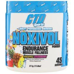 CTD Sports, Noxivol Powder, Pineapple Strawberry, 11.0 oz (311 g) Zdrowie i Uroda