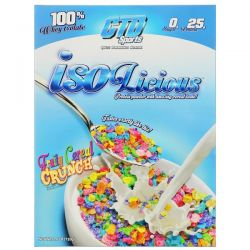 CTD Sports, Isolicious Protein Powder, Fruity Cereal Crunch, 1.6 lb (720 g)
