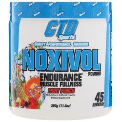 CTD Sports, Noxivol Powder, Fruit Punch, 11.3 oz (320 g) Zdrowie i Uroda