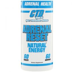 CTD Sports, Adrenal Reset, 60 Tablets