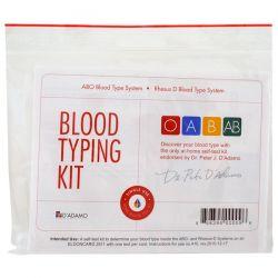 D'adamo, Blood Typing Kit, 1 Easy Self-Testing Kit