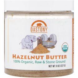 Dastony, Organic, Hazelnut Butter, 8 oz (227 g) Pozostałe