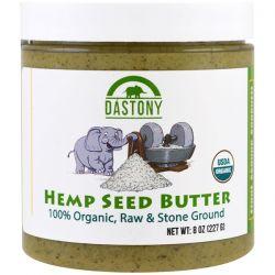 Dastony, 100% Organic Hemp Seed Butter, 8 oz (227 g) Pozostałe