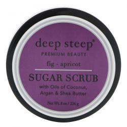 Deep Steep, Sugar Scrub, Fig - Apricot, 8 oz (226 g) Pozostałe