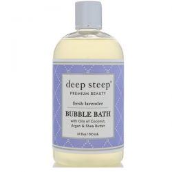 Deep Steep, Bubble Bath, Fresh Lavender, 17 fl oz (503 ml) Pozostałe