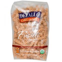 DeLallo, Fusilli No. 27, 100% Organic Whole Wheat Pasta, 16 oz (454 g) Biografie, wspomnienia