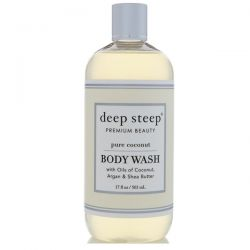 Deep Steep, Body Wash, Pure Coconut, 17 fl oz (503 ml) Biografie, wspomnienia