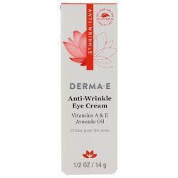 Derma E, Anti-Wrinkle Eye Cream, 1/2 oz (14 g) Biografie, wspomnienia