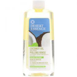 Desert Essence, Coconut Oil Dual Phase, Pulling Rinse, 8 fl oz (240 ml) Pozostałe