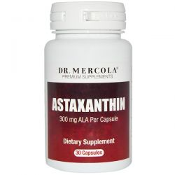 Dr. Mercola, Astaxanthin, 30 Capsules Pozostałe