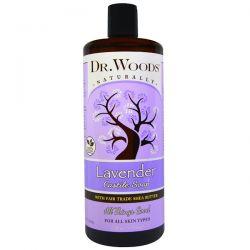 Dr. Woods, Lavender, Castile Soap, Fair Trade, Shea Butter , 32 fl oz (946 ml) Pozostałe