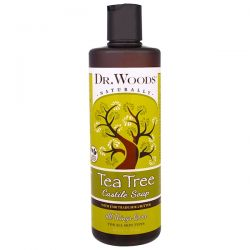 Dr. Woods, Tea Tree Castile Soap with Fair Trade Shea Butter, 16 fl oz (473 ml) Biografie, wspomnienia