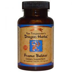 Dragon Herbs, Frame Builder, 450 mg, 100 Veggie Caps Pozostałe