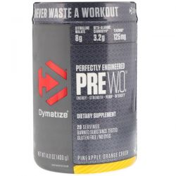Dymatize Nutrition, Pre-W.O., Pineapple Orange Crush, 14.11 oz (400 g) Biografie, wspomnienia