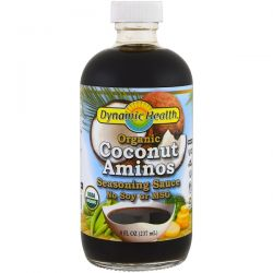 Dynamic Health  Laboratories, Organic Coconut Aminos, Seasoning Sauce, 8 fl oz (237 ml) Biografie, wspomnienia