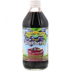 Dynamic Health  Laboratories, Pure Blueberry, 100% Juice Concentrate, Unsweetened, 16 fl oz (473 ml) Biografie, wspomnienia